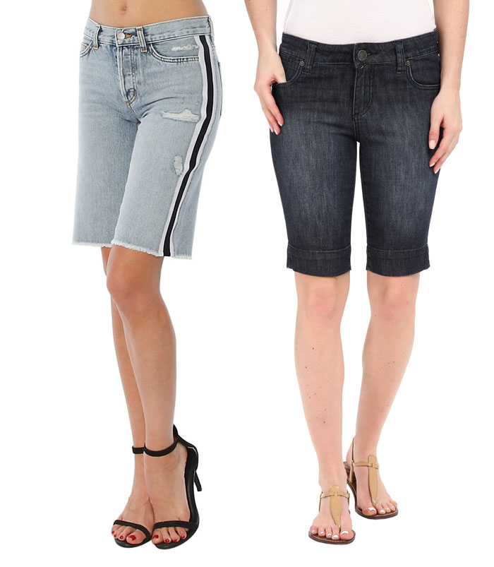 Knee Length Bermuda Shorts for Work or Weekends - Shorts 8