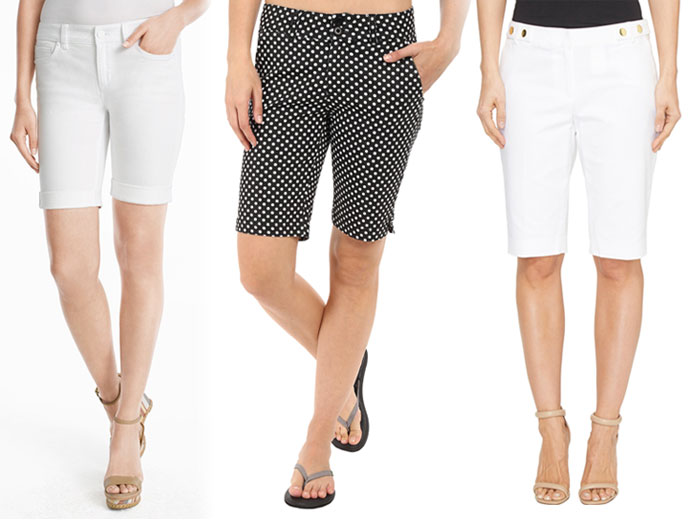 Knee Length Bermuda Shorts for Work or Weekends - Shorts 9