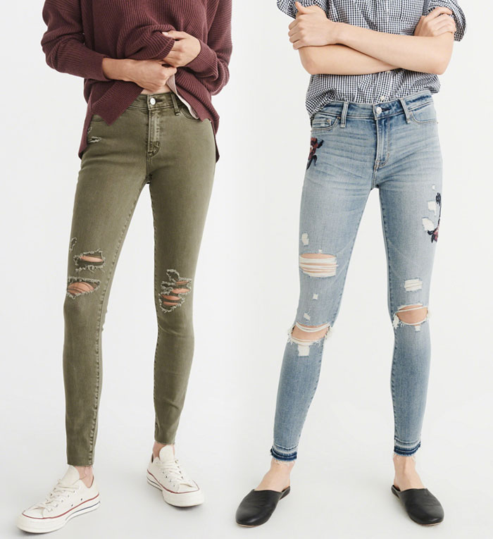 Abercrombie & Fitch Revamps their Denim Collection - Jeans 2