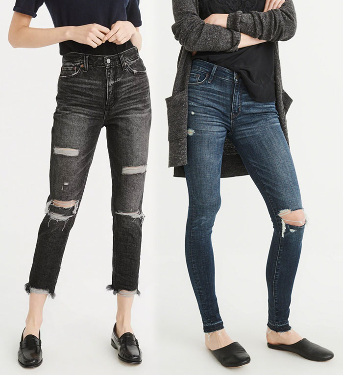 Abercrombie & Fitch Revamps their Denim Collection - Jeans 3
