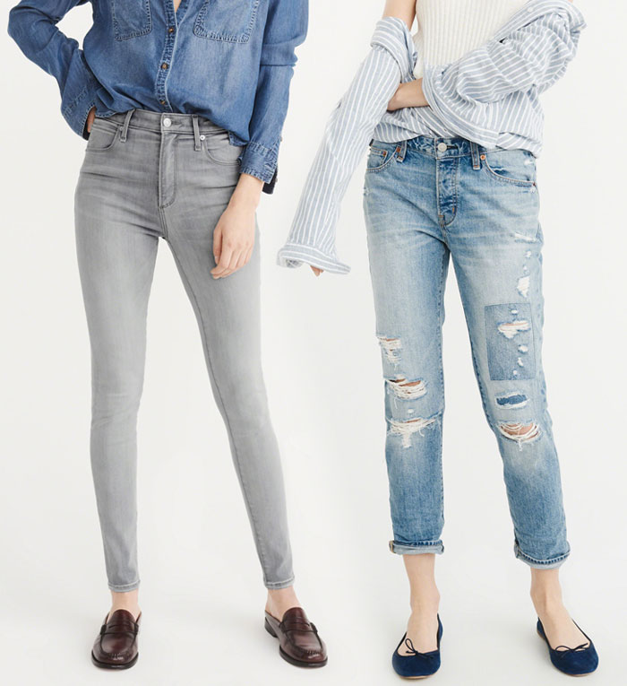 Abercrombie & Fitch Revamps their Denim Collection - Jeans 4