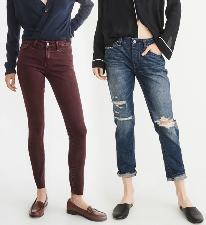 Abercrombie & Fitch Revamps their Denim Collection - Jeans 7