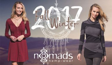 The Fall/Winter 2017 Collection from Nomads Hemp Wear