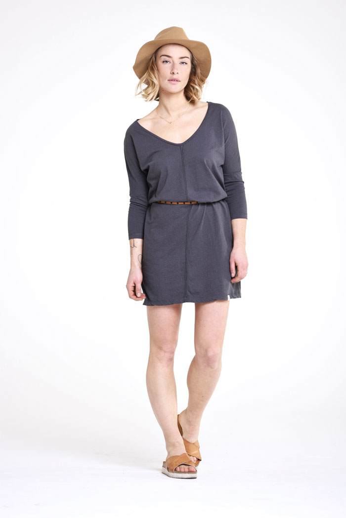 Sustainable and Organic Denim and Apparel by Kuyichi - Violet Tee - Dania Dress