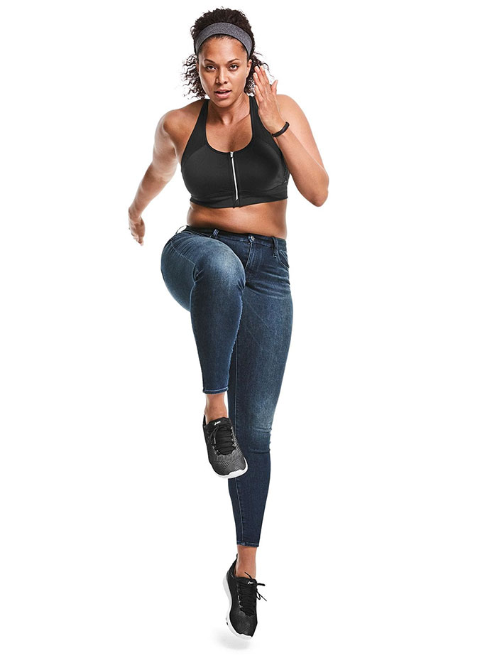 The New Sculptex Skinny Jean for Active Comfort from Athleta - Dark Wash 2
