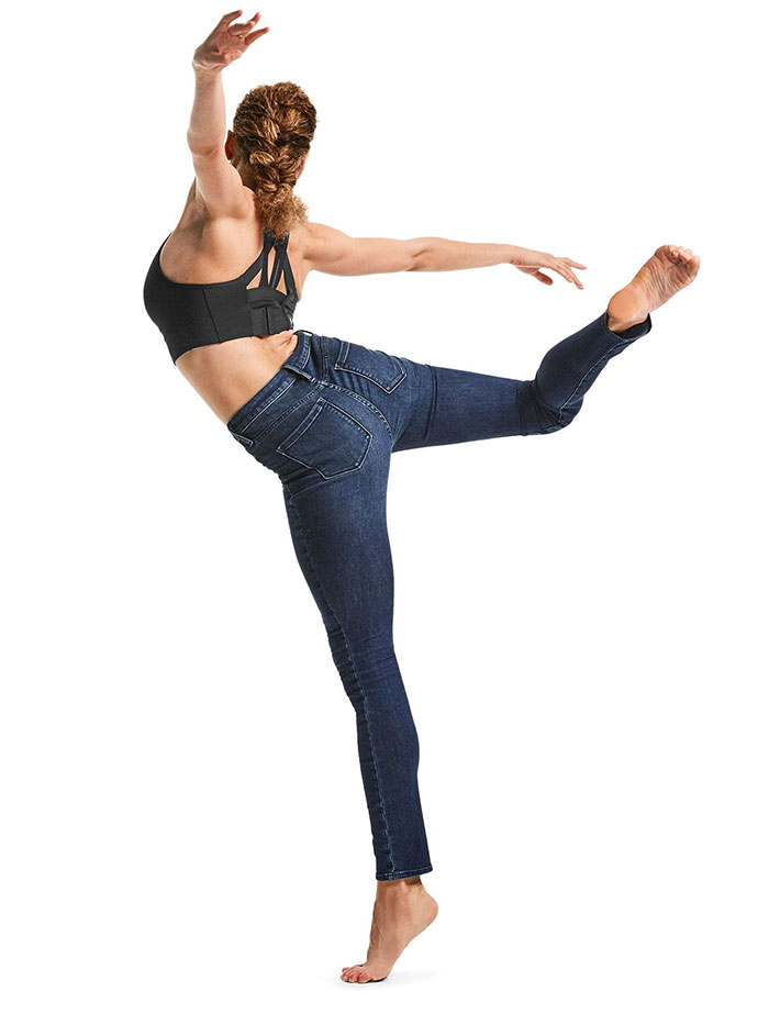 The New Sculptex Skinny Jean for Active Comfort from Athleta - Dark Wash 3