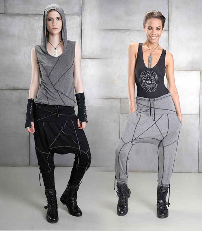 Cutting Edge Unisex Festival Apparel by Eternal Mode - Womens Orion Pants
