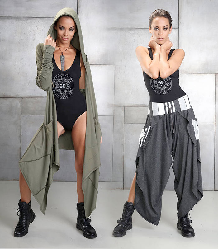 Cutting Edge Unisex Festival Apparel by Eternal Mode - Womens 2