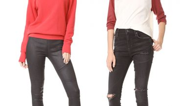 Not So Boring Black Jeans for Fall