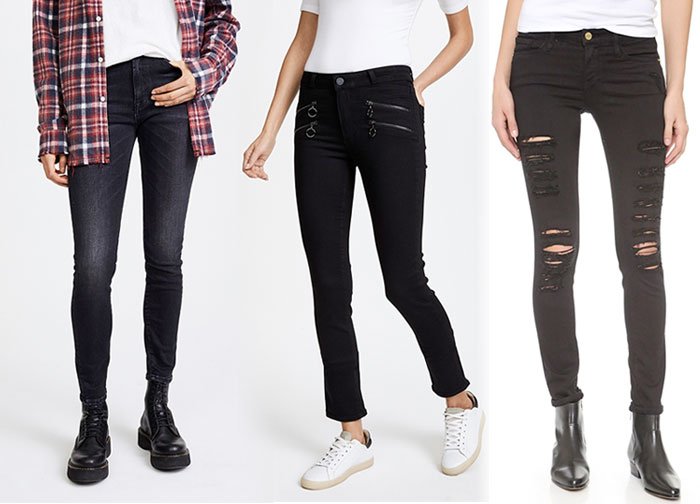 Not So Boring Black Jeans for Fall - Jeans 2
