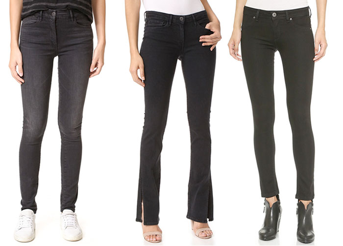 Not So Boring Black Jeans for Fall - Jeans 3