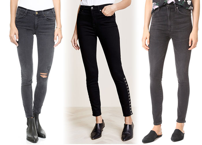 Not So Boring Black Jeans for Fall - Jeans 4