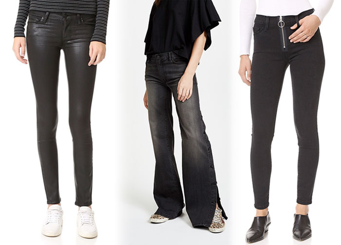 Not So Boring Black Jeans for Fall - Jeans 5