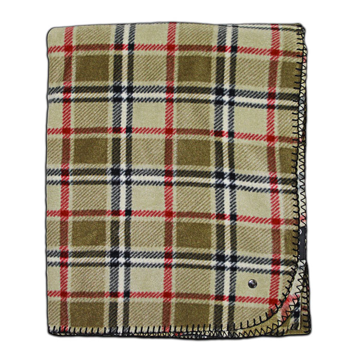 Mitscoots Outfitters Launches Blankets and Pillows for the Homeless - Blanket London Plaid
