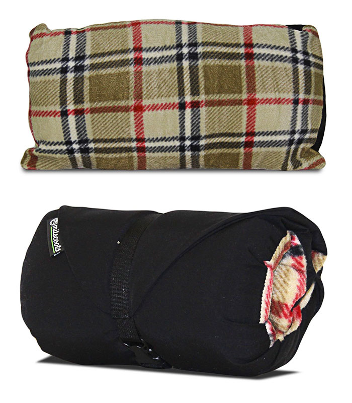 Mitscoots Outfitters Launches Blankets and Pillows for the Homeless - Traveler Pillow