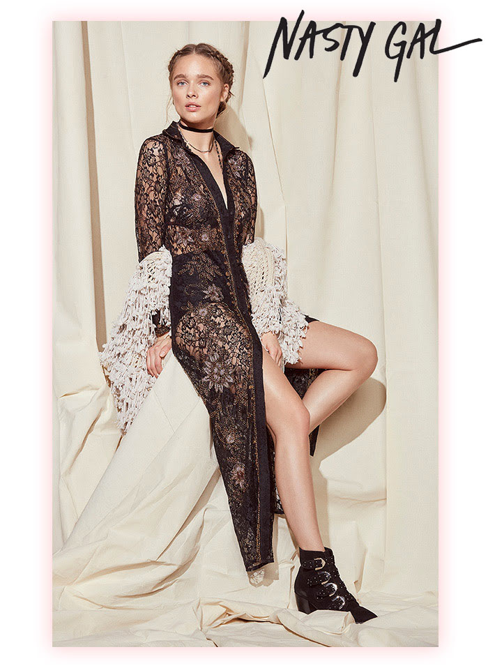 Shop Vintage Inspired Glamour with Nasty Gal Studio
