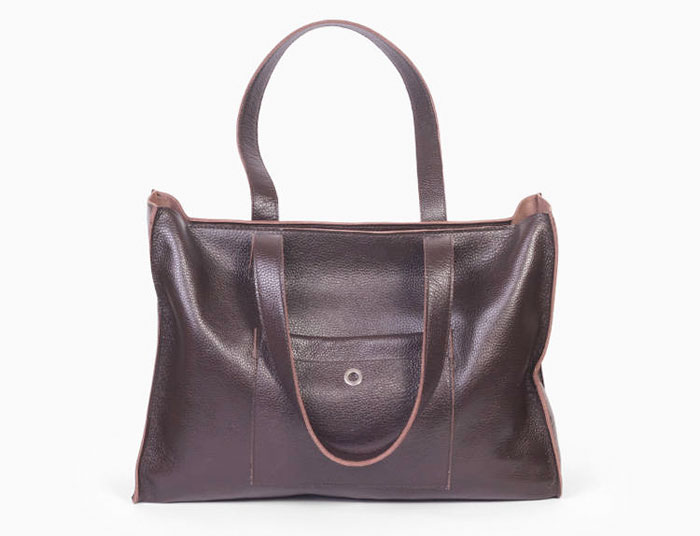 Natural Leather Tote Bags for Fall from Etsy - ARadaStore
