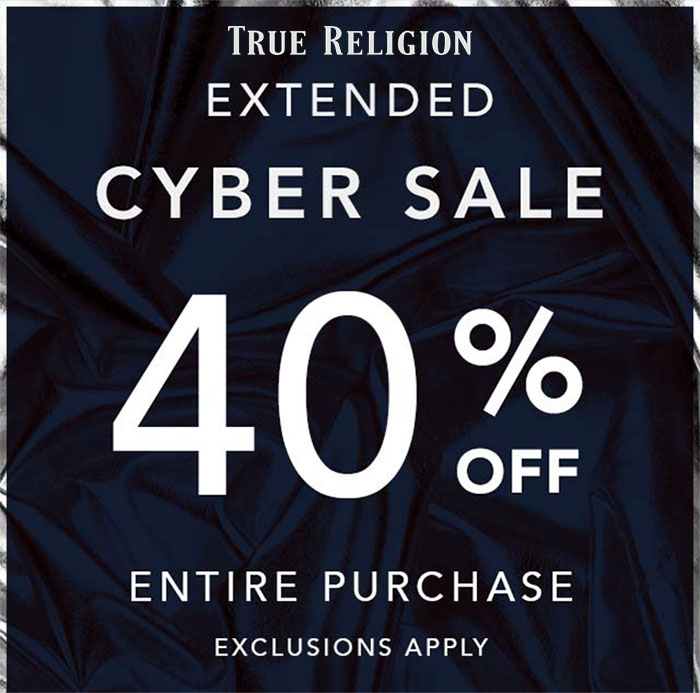 Holiday Break Recap and Favorite Remaining Sales - True Religion