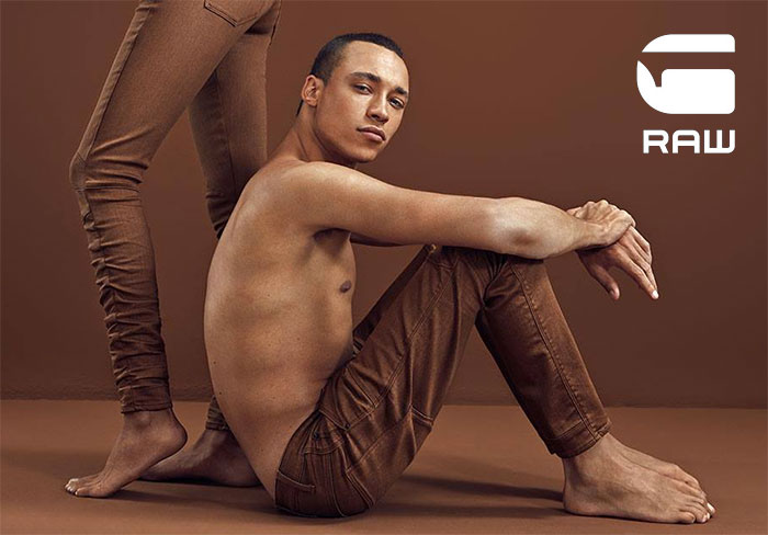 The Naturally Dyed Earth Colors Jeans by G-Star RAW