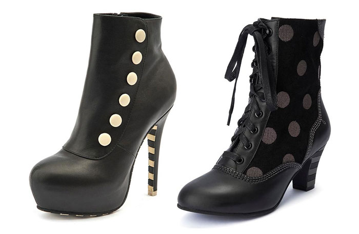 Comfortable and Whimsical Footwear by Lola Ramona  - Mid Boots