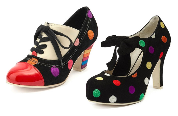 Comfortable and Whimsical Footwear by Lola Ramona  - Oxford Heels