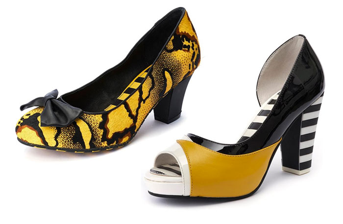 Comfortable and Whimsical Footwear by Lola Ramona - Pumps