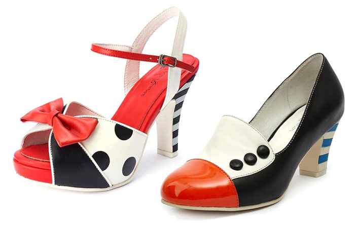 Comfortable and Whimsical Footwear by Lola Ramona  - Sandal and Pump