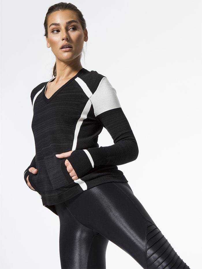High Performance Moto Style by Blanc Noir at Carbon38 - Complete Sweater