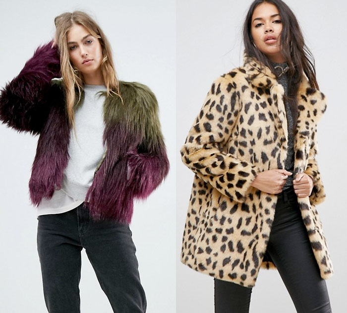 Stay Cozy and Stylish in Faux Fur Jackets this Winter - Asos