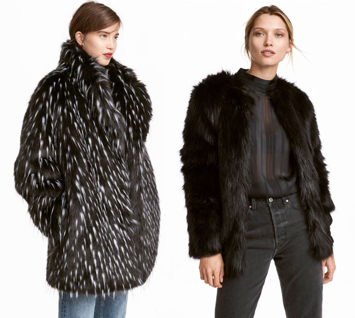 Stay Cozy and Stylish in Faux Fur Jackets this Winter - H&M