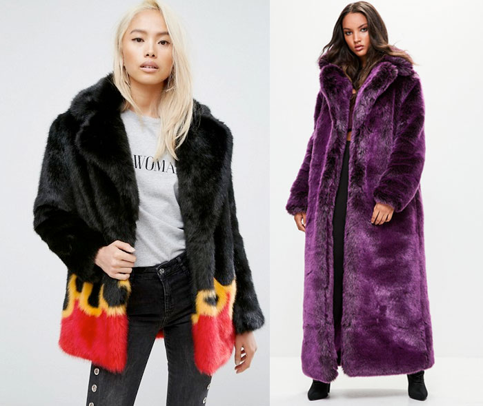 Stay Cozy and Stylish in Faux Fur Jackets this Winter - Asos and Misguided