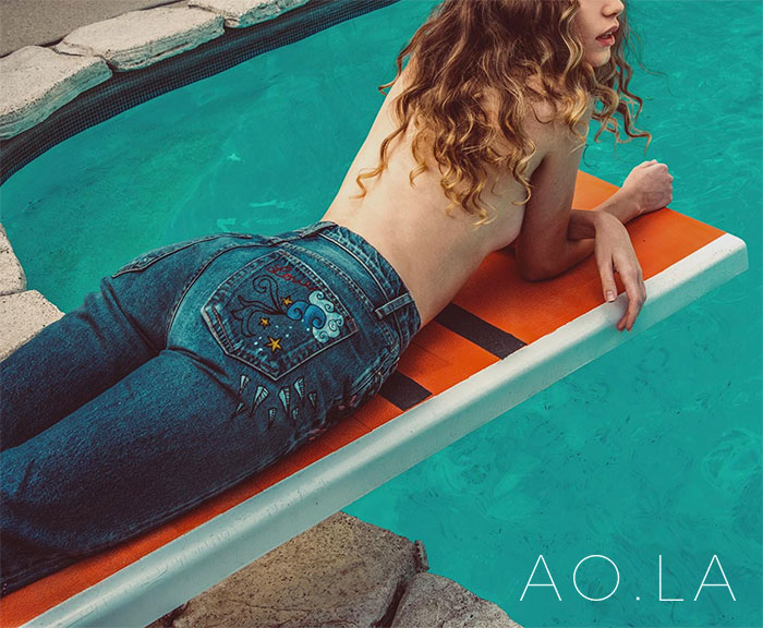 The New AO.LA Jeans by Alice + Olivia