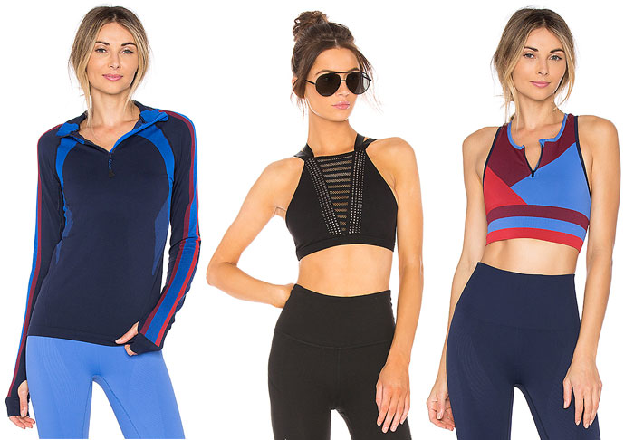 Stylish New Activewear for your 2018 Resolutions - Bras and Jacket