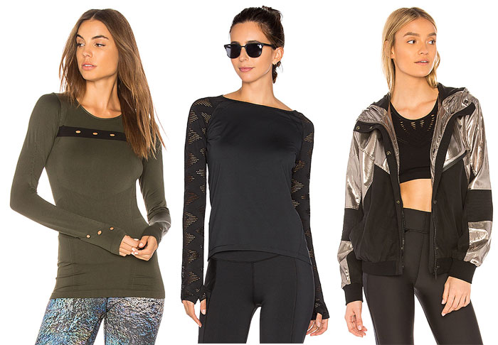 Stylish New Activewear for your 2018 Resolutions - Jacket and Tops