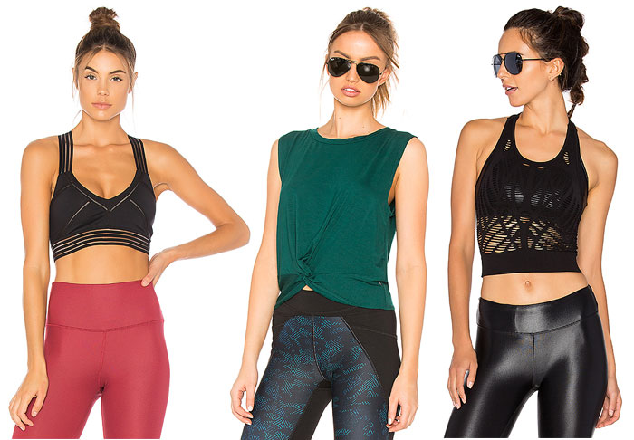 Stylish New Activewear for your 2018 Resolutions - Top and Bras