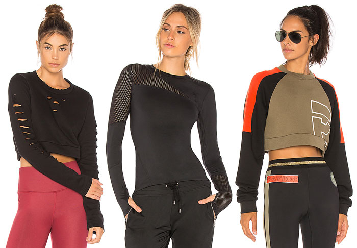 Stylish New Activewear for your 2018 Resolutions - Tops
