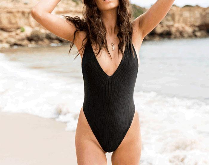 Earth Friendly Swimwear by Free Bella - Elle One Piece
