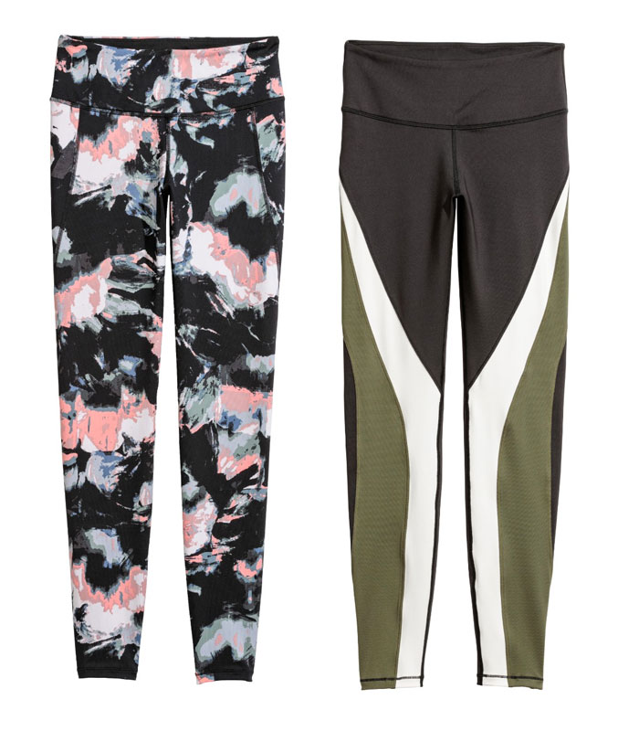New Environmentally Conscious Activewear from H&M - Leggings