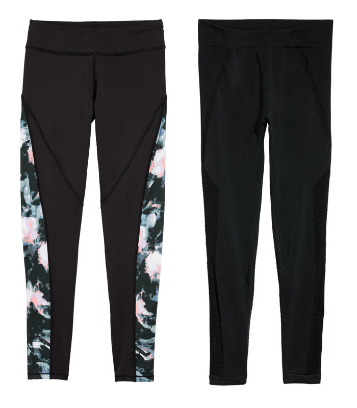 New Environmentally Conscious Activewear from H&M - Leggings 2