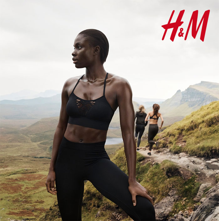 New Environmentally Conscious Activewear from H&M
