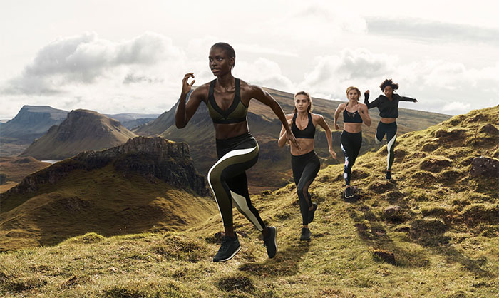 New Environmentally Conscious Activewear from H&M - Lifestyle Shot 2
