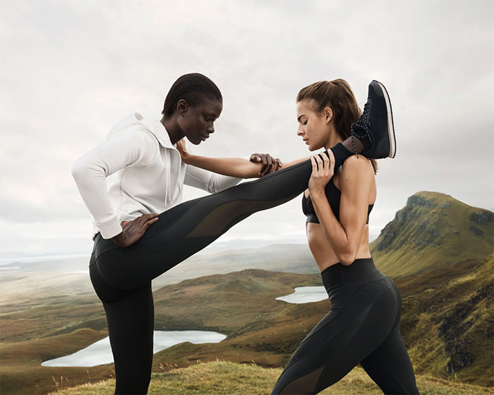 New Environmentally Conscious Activewear from H&M - Lifestyle Shot 3