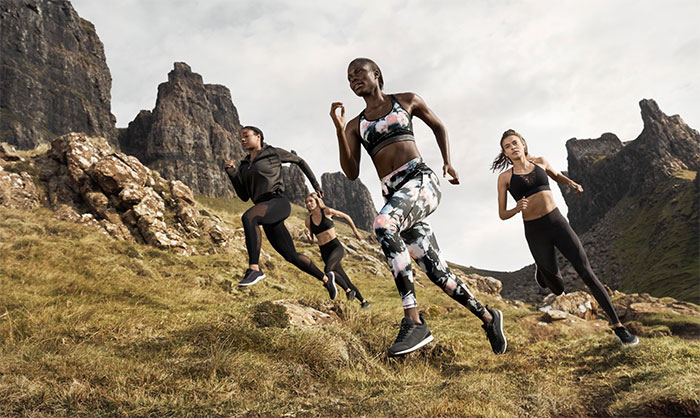 New Environmentally Conscious Activewear from H&M - Lifestyle Shot 4