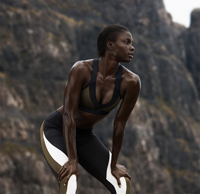New Environmentally Conscious Activewear from H&M - Lifestyle Shot 5