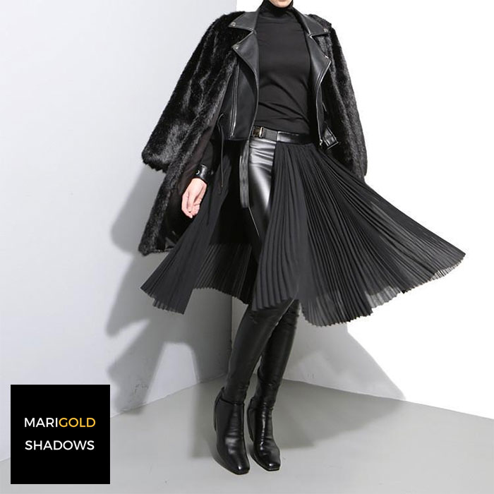 Affordable Modern Style for Dark Tastes by Marigold Shadows