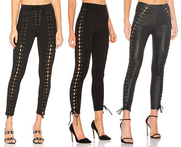 Edgy and Flirty Night Out Looks by LPA at Revolve - Pants