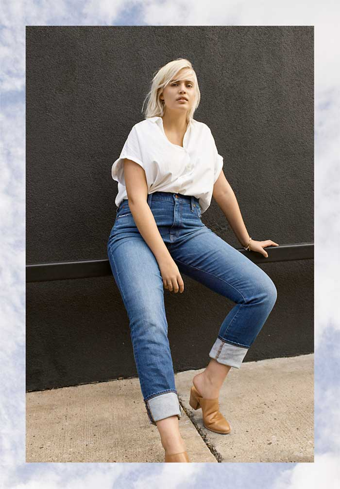 Modern and Casual New Spring Denim from Madewell - High Rise Slim Boyfriend