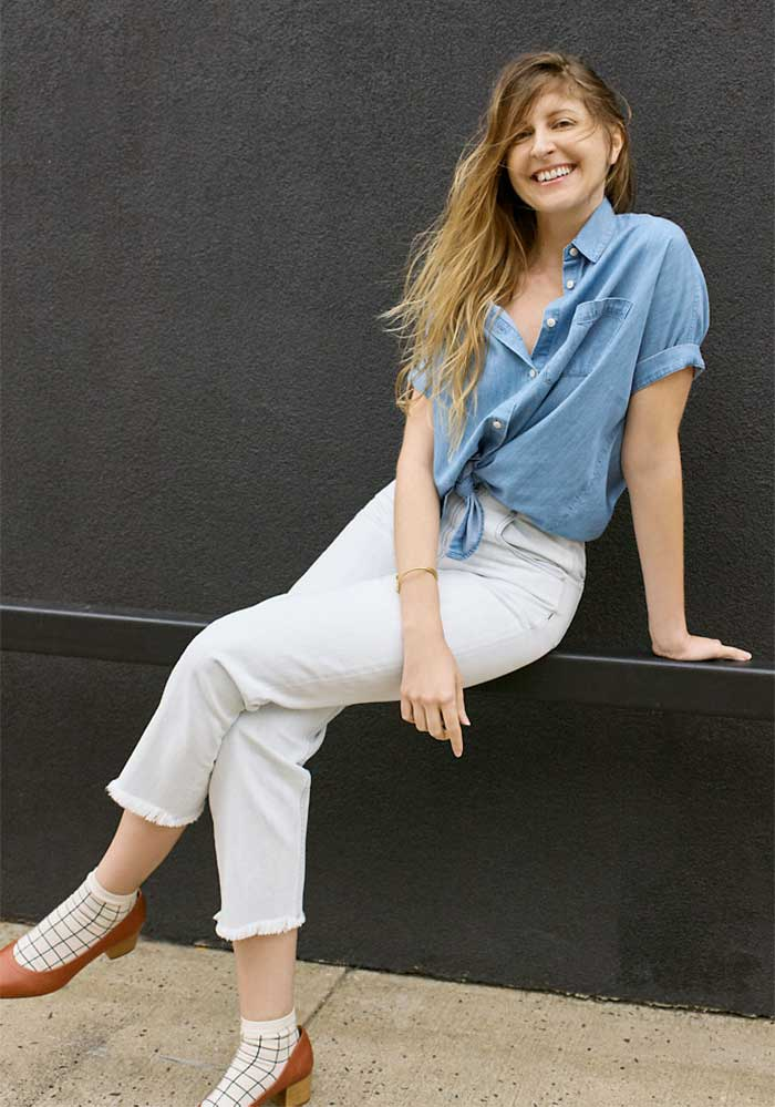 Modern and Casual New Spring Denim from Madewell - Tapered Wide Leg