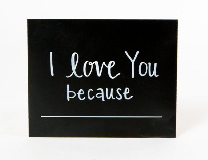 Creative and Personal Valentine's Day Gift Ideas from Etsy - Chalkboard