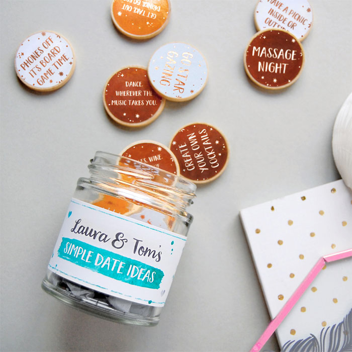 Creative and Personal Valentine's Day Gift Ideas from Etsy - Date Ideas Jar